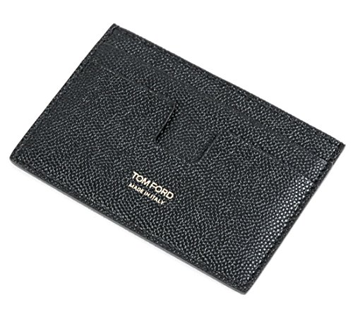 Wiberlux Tom Ford Men's Pebble Texture Real Leather Wallet One Size Black