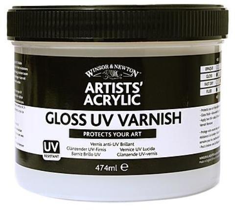 Winsor & Newton Artists' Acrylic UV Varnishes (Gloss) - 237 ml (Jar) 1 pcs sku# 1845664MA ()