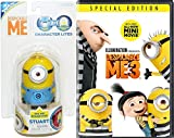 Character Light Up Minions Animated Movie Despicable Me 3 Cartoon + Minion character toy Lite pack Bundle + Bonus new mini movie