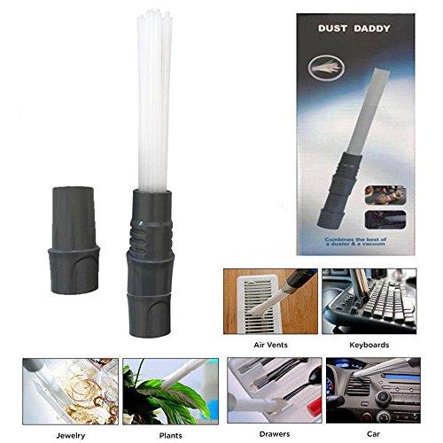 Brush Length Dozen (As Seen On TV, elegantPAK 2018 Dust Daddy Brush Cleaner Dirt Remover Universal Vacuum Attachment Cleaning Tools (1pcs))