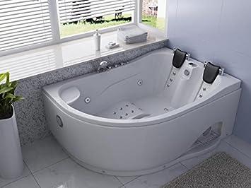 Vasca Da Bagno Angolare 2 Posti : Vasche posti vasca da bagno angolare posti cm idroness oceano