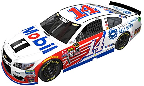 tewart #14 Mobil 1 Summer Selldown 2016 Chevrolet SS 1:24 Scale ARC HOTO Official Diecast of NASCAR Cup Series (Tony Stewart Heart)