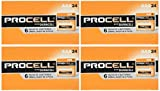 Duracell Procell 96 Battery Value Pack (Size-AAA) (4 Pack of 24)