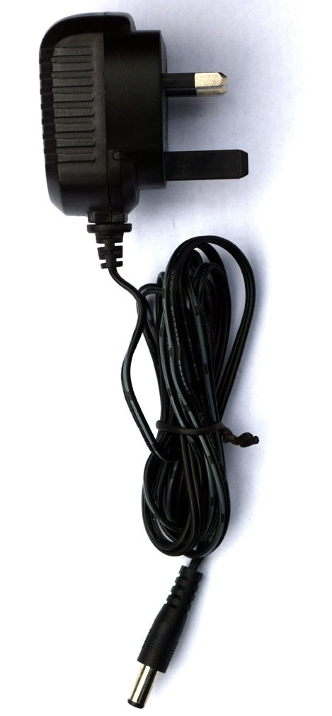 UK plug MyVolts 9V power supply compatible with Korg Synth Volca Sample 5-way splitter cable