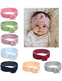 Baby Girl Nylon Headbands Newborn Infant Toddler Hairbands and Bows Child  Hair Accessories ce6c998a5c5a