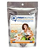 Pawbiotics pet probiotics and enzymes with prebiotics - pumpkin - turmeric - fish oil a natural supplement for dogs and cats (4 ounce)