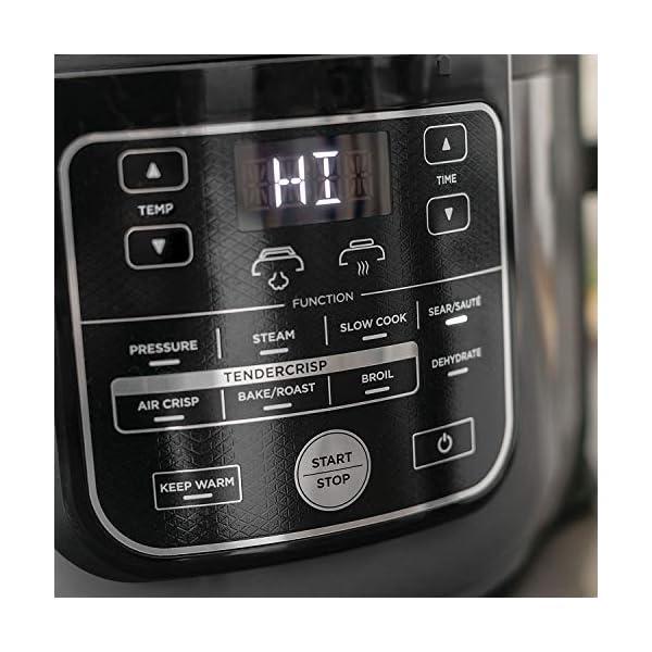 Ninja Foodi OP305 6.5 Quart TenderCrisp Pressure Cooker - Black/Gray 4