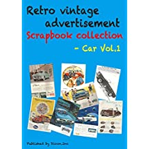 Retro vintage advertisement Scrapbook collection - Car Vol.1