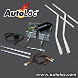 AutoLoc Power Accessories 9867 Heavy Duty Power Windshield Wiper Kit with Bottom Mount Wiper Arms