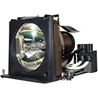 AuraBeam Economy Dell 4100MP Projector Replacement Lamp with Housing