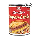Loma Linda - Plant-Based - Super Links (96 oz.) (Pack of 12) - Kosher
