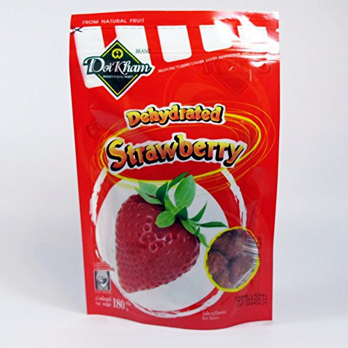Doikham Product of Royal Project Dehydrated Strawberry 180g. Product of (Best Pizza Deals For Halloween)