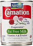 Carnation Evaporated Milk, Fat Free, 12 Fl Oz