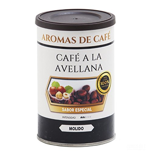 Aromas de Café - Café de Avellana 100% Arabica Compatible con Nespresso/Cápsulas Café Nespresso Sabor Avellana Intensidad Media Suave e Intenso, ...