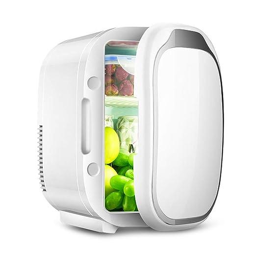 JFCLH Mini Nevera eléctrica frigorífico 6L Calentador Portátil ...