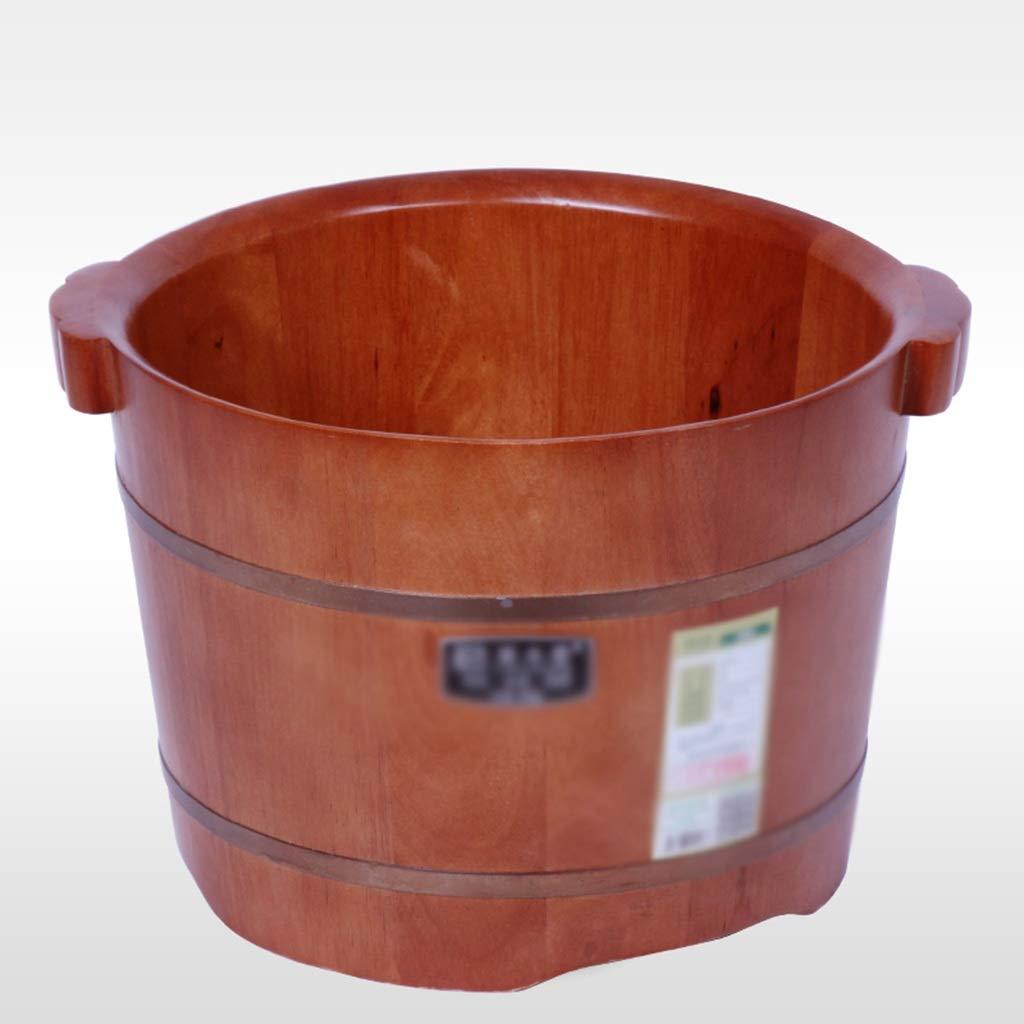 フットマッサージャーフットバス 木製の樽足浴槽足浴桶バレル家庭用足湯小さな浴槽厚い木の足浴槽樽 (Color : Brown, (Color Size : 37 : 37*26cm)*26cm) B07NQ7CBGM Brown 37*26cm, 中古オフィス家具のトレタテ:b2445763 --- lembahbougenville.com