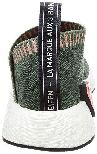 Mujer de Zapatillas Rostra Verde Vertra Vertra Deporte Adidas para W PK cs2 NMD qIwB68