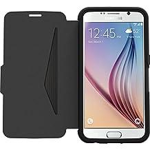 OtterBox Galaxy S6 Strada, Black/Dark Grey Leather