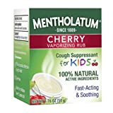 Mentholatum Children's Chest Rub for Kids, Cherry Scented, 1.76 Ounce each, Pack of 4