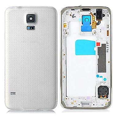 Carcasa Trasera para Samsung Galaxy S5 G900, Color Plateado ...