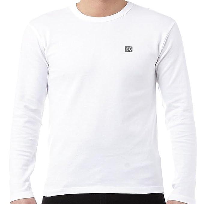 Herren langärmlig Jersey Oberteil Ente & Hülle T-Shirt CEW Hals DESIGNER  SOMMER NEU: Amazon.de: Bekleidung