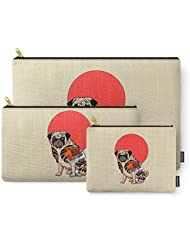 Society6 Yakuza Pug Carry-All Pouch