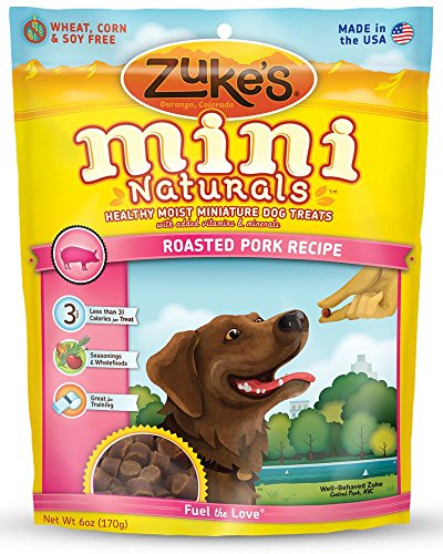 Zukes-Mini-Naturals-Healthy-Moist-Dog-Treats-Variety-Pack-6-Flavors-Roasted-Pork-Wild-Rabbit-Roasted-Chicken-Delicious-Duck-Savory-Salmon-Fresh-Peanut-Butter-6-oz-Each