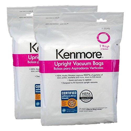kenmore o type hepa bags - 5