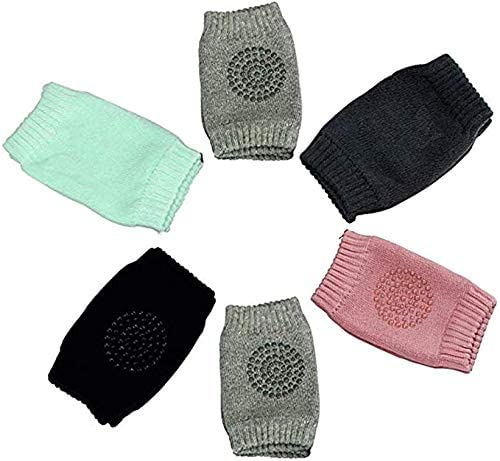 Safety Pair Infant Toddler Baby Knee Pad Crawling Safety Protector Crawling Protective Knee/Elbow Pads for Toddler Baby Infant Kids pack of 5