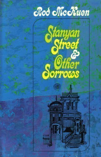 Stanyan Street and Other Sorrows: Poems by McKuen, Rod published by Random House Inc (T) Hardcover
