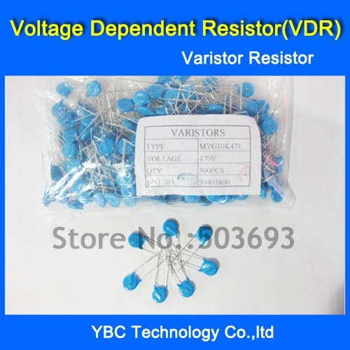 MAO YEYE 1000pcs/lot Voltage Dependent Resistor VDR 10D471K 10D-471K Varistor Resistor