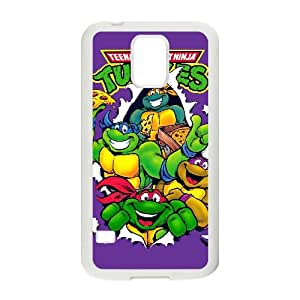 Teenage Mutant Ninja Turtles Samsung Galaxy S5 Cell Phone Case White xlb-236469