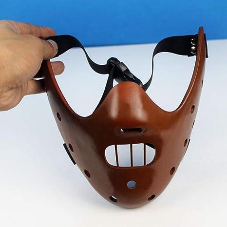 Resina Silenzio degli Innocenti Hannibal Lecter Caffè Maschera Costume Di Halloween Film