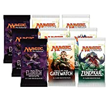 Magic the Gathering - 3x Eldritch Moon, 3x Battle for Zendikar and 3x Oath of the Gatewatch - Booster Pack Bundle