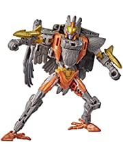 Transformers Toys Generations War for Cybertron: Kingdom Deluxe WFC-K17 Arcee Action Figure – Ages 8 and Up, 14-cm