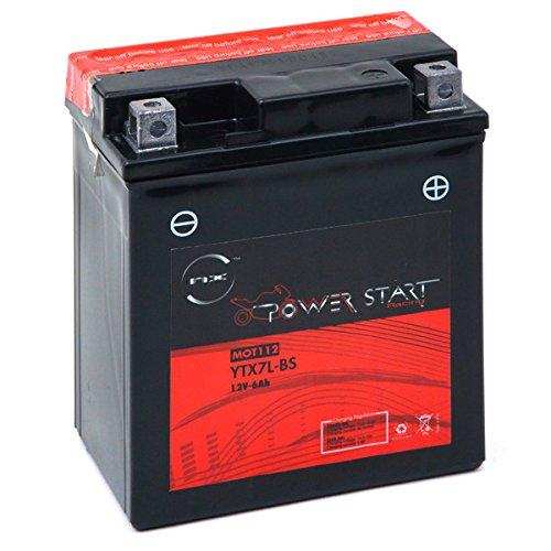 Batterie moto YTZ12S 12V 11Ah s Batterie NX