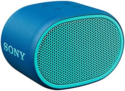 Sony XB01 Bluetooth Compact Portable Speaker Blue SRSXB01 L Renewed