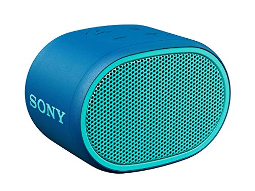 Sony XB01 Bluetooth Compact Portable Speaker Blue (SRSXB01/L) (Renewed)