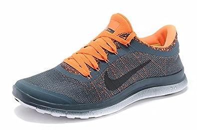 Mens Nike Free 5.0 V3 Orange Running Shoes UK Stockists