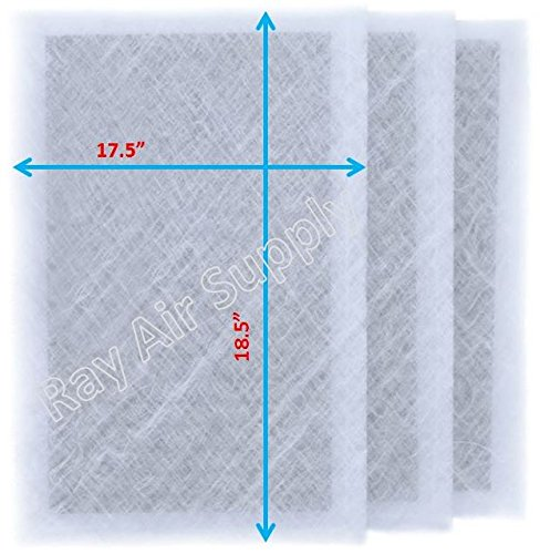 Dynamic Air Cleaner Replacement Filter Pads 20X20 Refills...