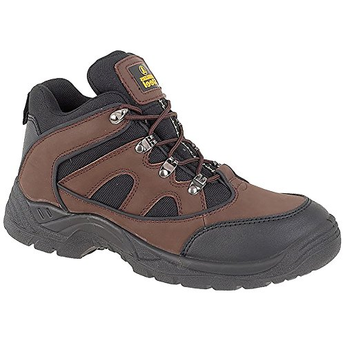 Amblers Safety Boots FS152 Brown Size 12