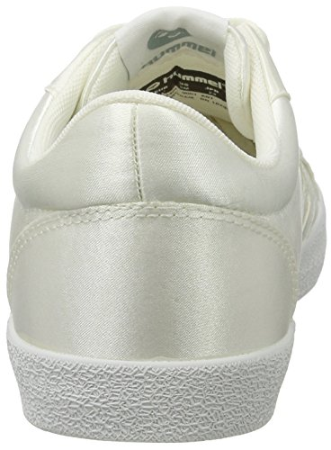 Hummel Damen Deuce Court Sneakers In Raso Weiß (bianco)