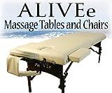 Signature II Portable Massage Table Beige Dark W/Adjustable...