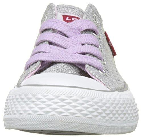 Silver Argent Kids Levi's Low Pink Fille Baskets Glitter Trucker dSC7w4qC