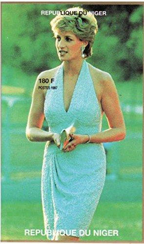 Diana Princess of Wales, Single Stamp Pane, Niger 1997