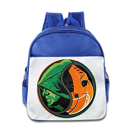 [JXMD Custom Cute Green Arrow Children Schoolbag For 1-6 Years Old RoyalBlue] (Kentucky Derby Costumes For Dogs)