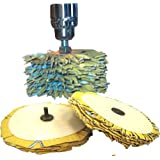 "6"" Sanding Mop Profile Sander, Triple Kit Combo Pack"