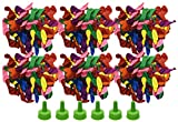 Set of 600 Summer Fun Water Bombs! Easy Fill Nozzles - Pool Toys - Water Toys - 9'' x 4'' Water Balloons Perfect for Parties, Events and Summer Fun! (600)