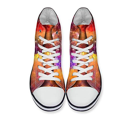 Femme De Ville Pattern6 À Galaxy Nopersonality Chaussures Lacets OTqFp