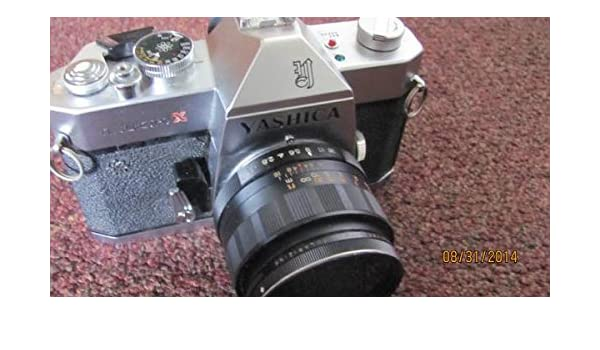 Yashica-TL-Electro-X-35mm-Camera-w-1-7-50mm-Lens: Amazon.es ...